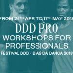 """DDD Pro"" Professional Dance Workshops in Porto (Portugal)"