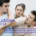 Ballet Junior de Genève audition 2018